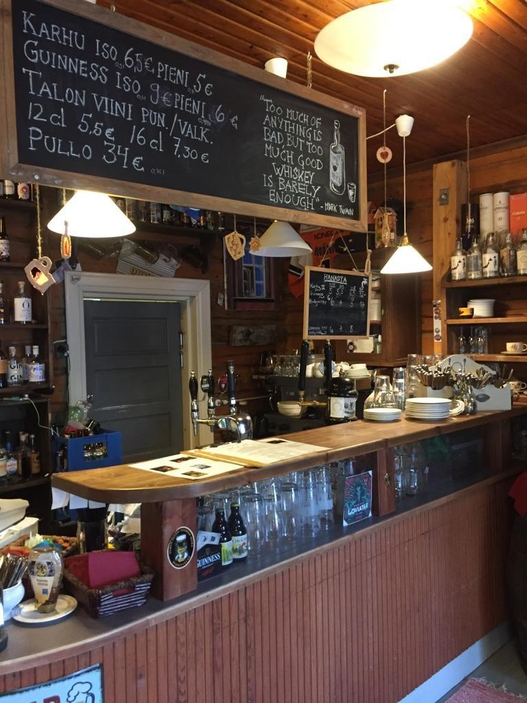 Ryynänen on tutustumisen arvoinen Pub Ravintola Kolin keskustassa
