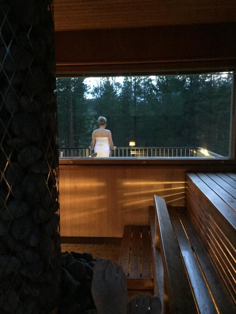 Sauna oli yksi ihanimmista asioista